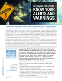 FEMA: Disaster Preparedness Alerts