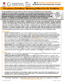 NDIN Tip Sheet: Competency Guidelines: Sheltering & Mass Care for Buddhists
