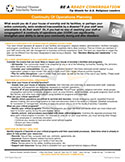 NDIN Tip Sheet: Continuity of Operations Planning