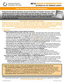 NDIN Tip Sheet: Faith Communities & Donations Management