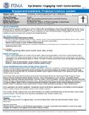 FEMA Engagement Guidelines: Protestant Christian Leaders