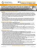 NDIN Tip Sheet: Faith Communities & Hot Weather Hazards