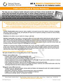 NDIN Tip Sheet: Faith Communities & Trauma Resilience