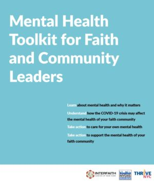 Mental Health Toolkit for Faith and Community Leaders