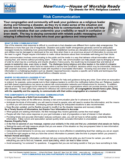NYDIS Tip Sheet: Risk Communication