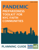 COVID-19: Pandemic Preparedness Toolkit for NYC Faith Communities